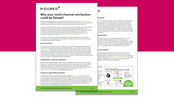 attribution white paper image