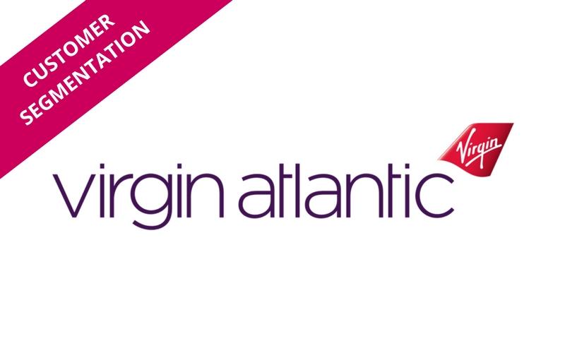 Customer Segmentation logo for Virgin Atlantic case study