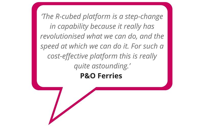 Image of P&O Ferries Marketing Automation testimonial statement