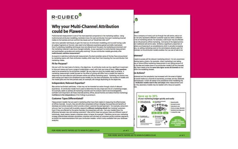 Multi-channel attribution white paper