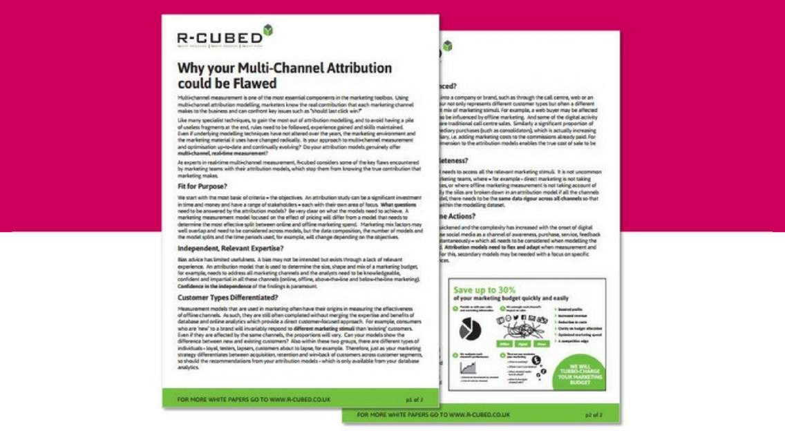 Multi-channel attribution white paper image