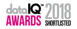 Data IQ awards shortlisted logo