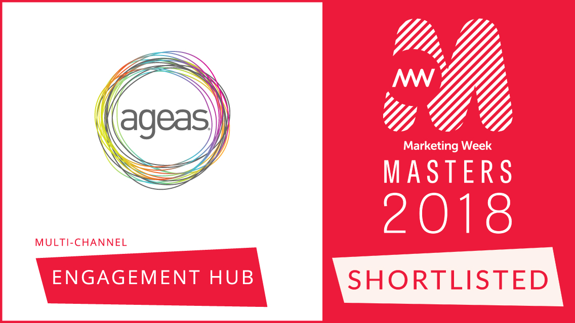 Ageas Insurance and R-cubed shortlisted for prestigious marketing award!