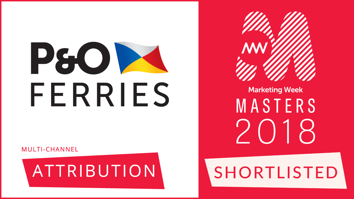 P&O and R-cubed shortlisted for Masters of Marketing Award!