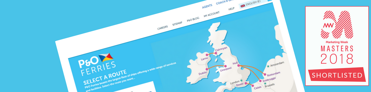 Attrbution for P&O Ferries case study banner