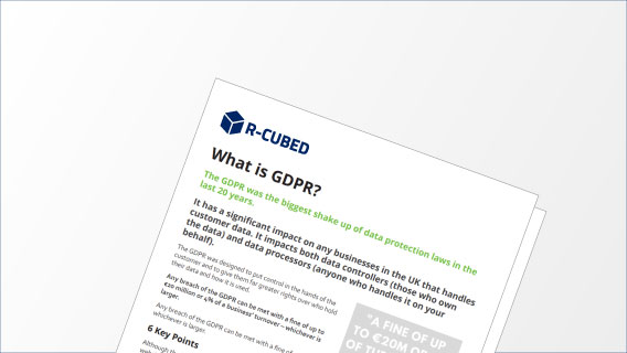 What is GDPR white paper